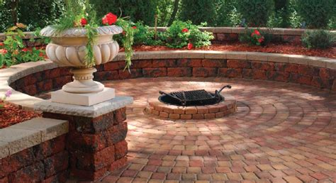 Backyard Firepit Ideas paver styles and paver colors for the perfect outdoor space