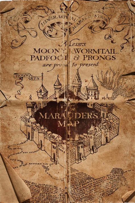 harry potter map aliexpress buy custom canvas harry potter poster harry porter map wall stickers