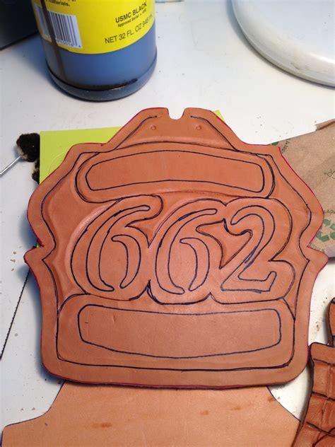 How To Make Leather Fire Helmet Shields Fire Front Blanks Helmet Shield Template