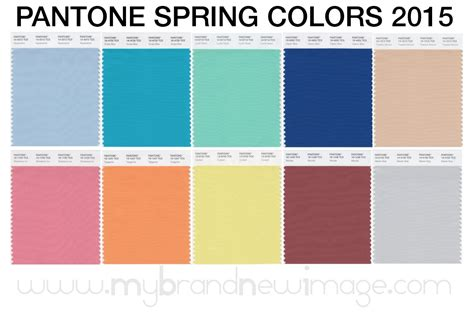 colors of spring pantone 174 spring colors 2015 women my brand new image