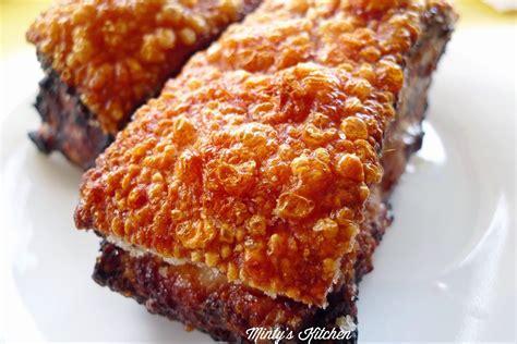 Crispy Pork minty s kitchen crispy roasted pork belly 脆皮燒肉