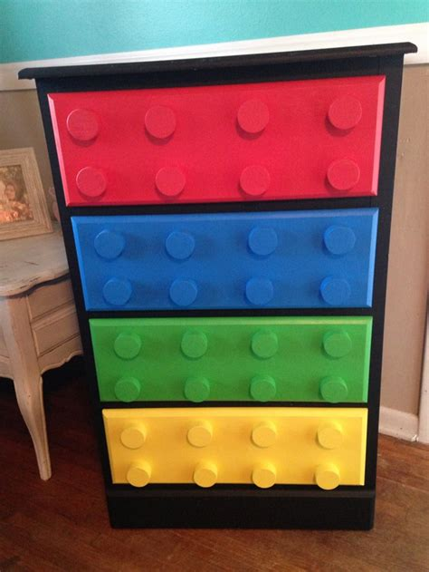 diy lego table cheap build your own unique lego themed dresser diy lego dresser