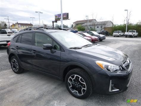 grey subaru crosstrek 2017 2017 gray metallic subaru crosstrek 2 0i limited