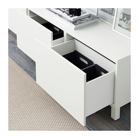 ikea besta drawer best 197 storage combination with drawers lappviken white