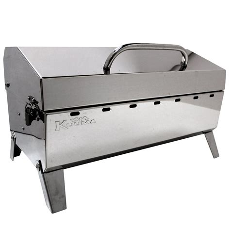 kuuma stainless steel grills charcoal grill camco 58110 charcoal grills cing world