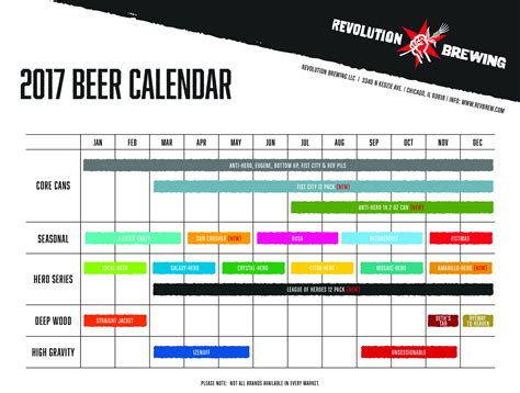Release Calendar 2017 Release Calendar Roundup