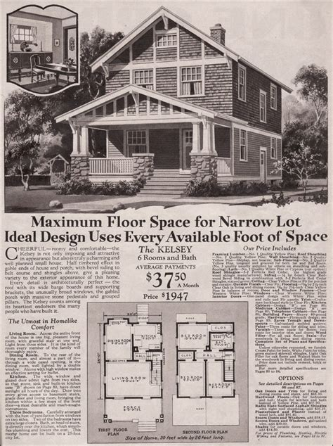 Two Story Craftsman Style House Plans 1930 two story craftsman bungalow kelsey montgomery ward