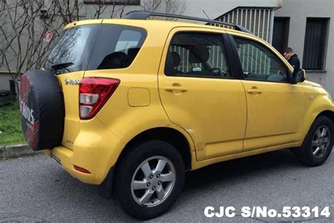 Daihatsu Terios 2007 2007 left daihatsu terios yellow for sale stock no