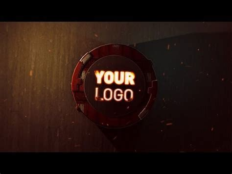 Mechanical Iron Logo Reveal 2 After Effects Template Youtube Iron After Effects Template