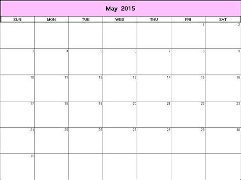 printable calendar 2015 net may 2015 printable blank calendar calendarprintables net