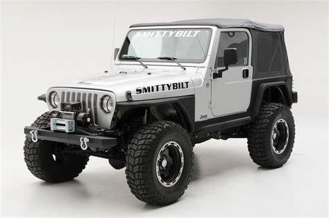 jeep yj winch smittybilt 2802 smi raised winch plate for 87 06 jeep