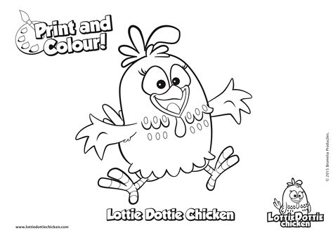 color pages coloring pages lottie dottie chicken official website