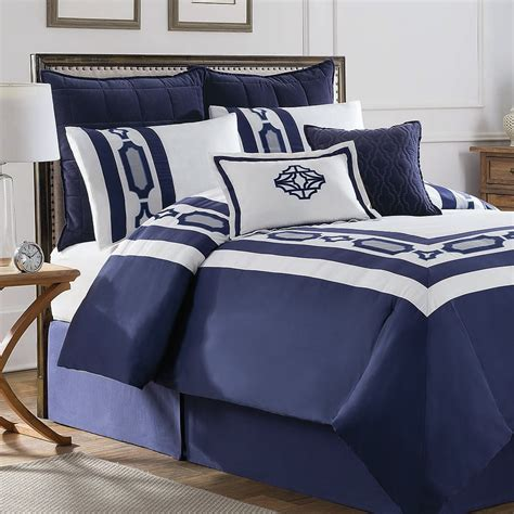 hotel comforter sets soho new york hotel embroidery 8 piece comforter set wayfair