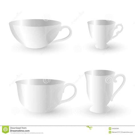 imagenes de tazas blancas tazas blancas imagenes de archivo imagen 34626384