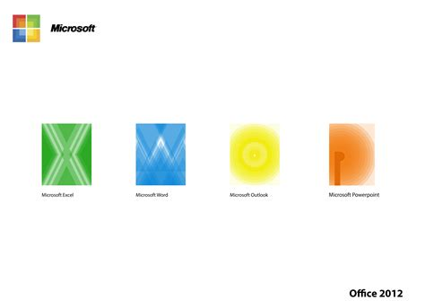 Microsoft Office 2012 by Microsoft Office 2012 Icons By Steven Paxton At Coroflot