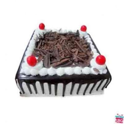 Send Black Forest Cake Square online in India on Best