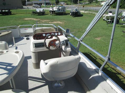 pontoon boats guntersville al suntracker 21 fishing barge 2004 for sale for 1 boats