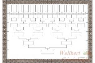 Blank Family Tree Templates by Blank Family Tree Template 6 Generations Printable Empty