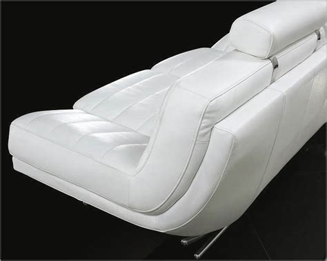 Ultra Modern Sofa Designs Ultra Modern Design White Leather Sofa Set 44l0670