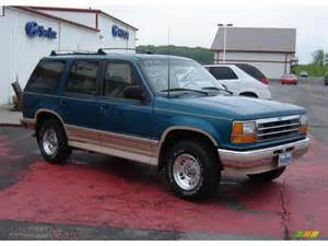 1994 ford explorer eddie bauer 4x4 in cayman green