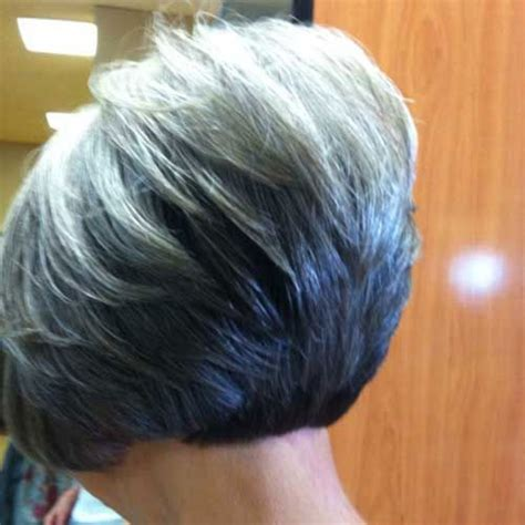 stacked bobs for older women graduated bob haircuts for older women my style