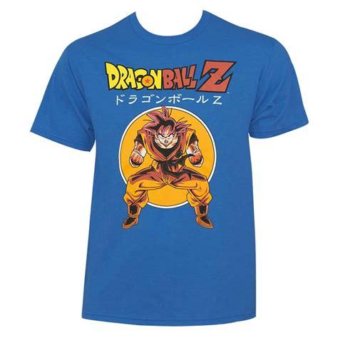 Goku Mens T Shirt z s blue goku t shirt tvmoviedepot