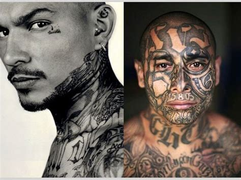 mob tattoos mara salvatrucha 25 cool mexican mafia tattoos