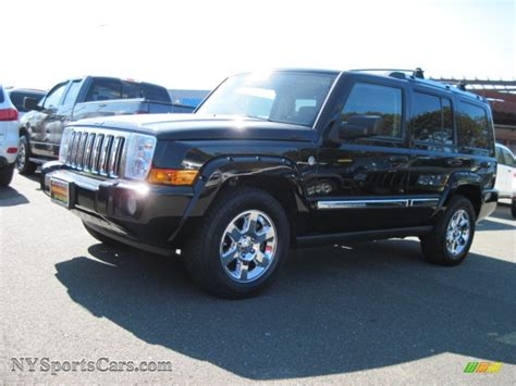 Jeep Commander All Black 2006 Jeep Commander Limited 4x4 In Black 214693