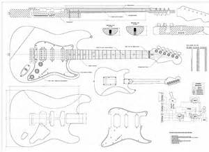 electric guitar blueprints free download images frompo