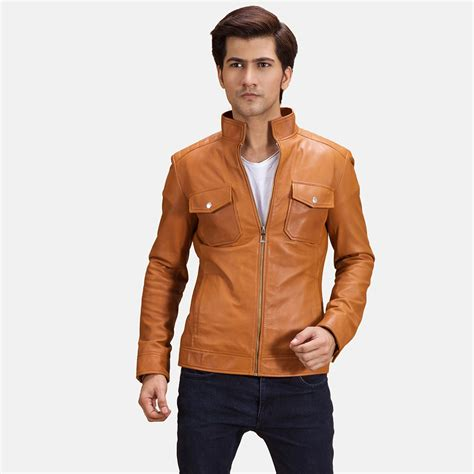 biker jacket men mens real leather biker jacket jacket to