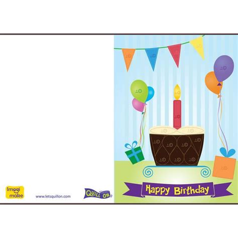 make a birthday card template free easy to make quilling birthday cards quill on