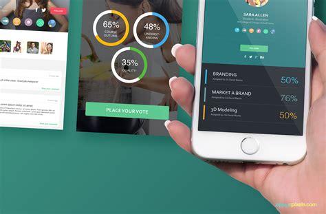 app layout mockup free iphone 6s perspective screen mockup zippypixels