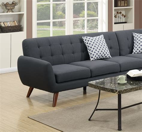 wedge sectional sofa sectional sofa loveseat wedge linen black hot sectionals