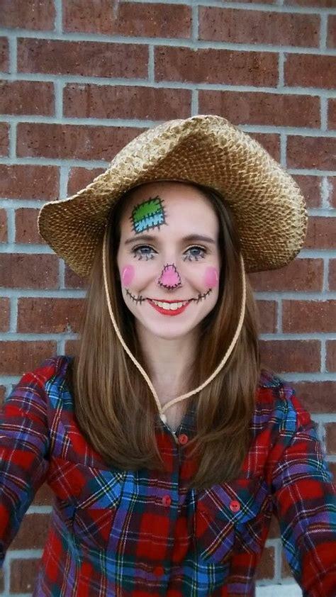 scarecrow halloween costume super easy    work