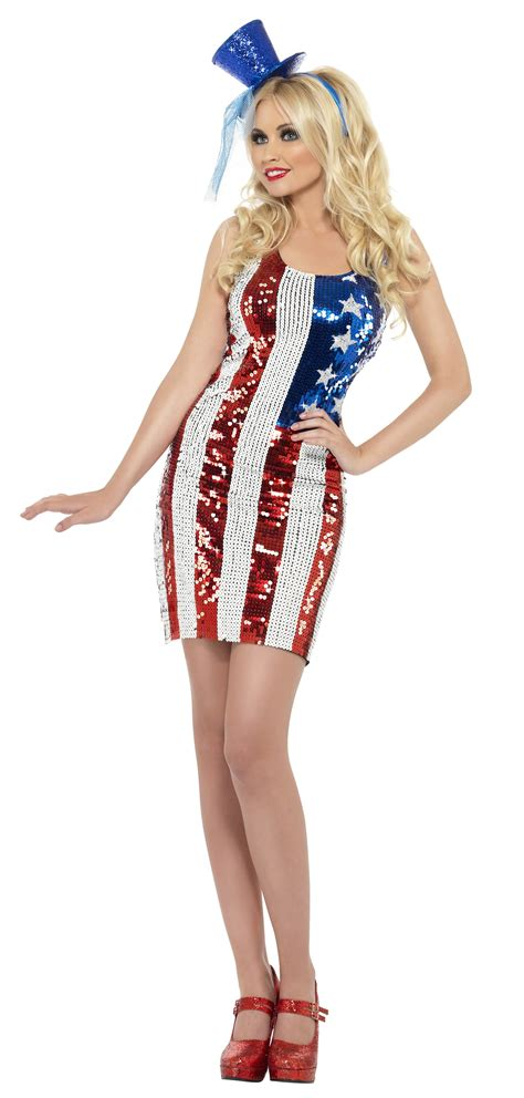 american themed clothing uk sexy american flag ladies 4th july national dress fancy