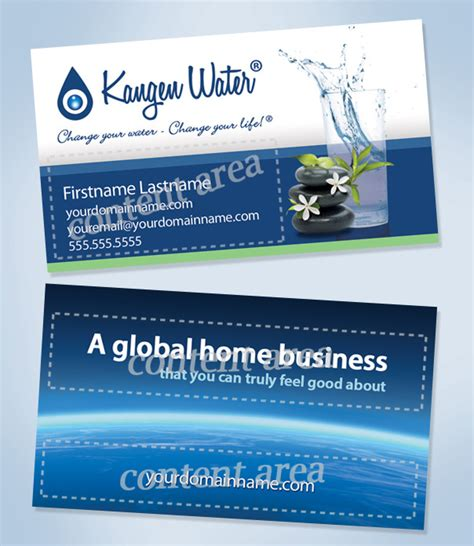 kangen business card templates business cards e5 theme business card