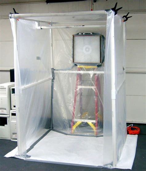 create a paint booth in your garage spray booth
