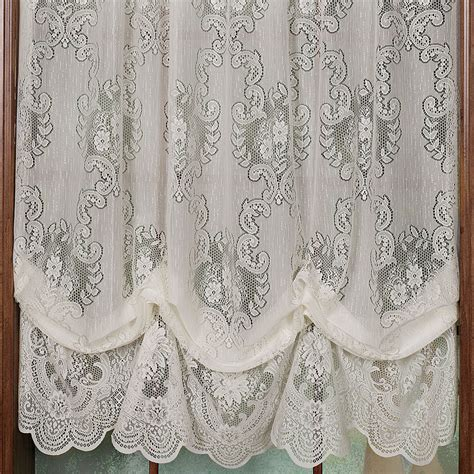 how to make a balloon shade curtain 1000 images about lace curtains on pinterest balloon