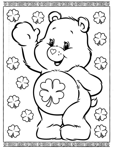 care bears 29 coloringcolor com