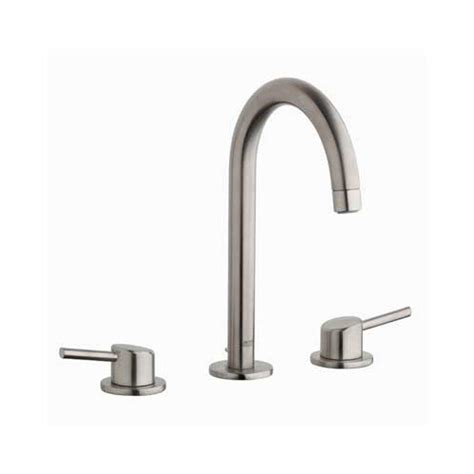 grohe bathroom sink faucets grohe concetto 8 in widespread 2 handle bathroom faucet