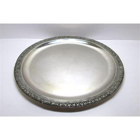 all interno vassoio usato in argento in stile gianmaria buccellati