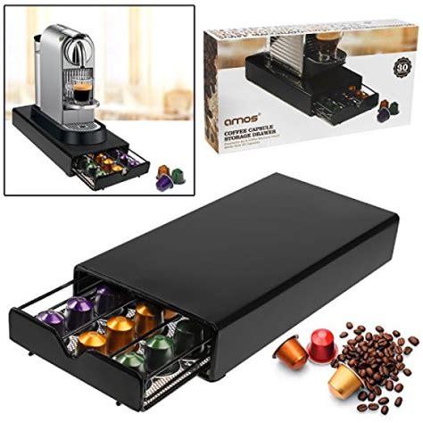 porta cialde nespresso amos portacapsule cassetto per 30 capsule di caff 232