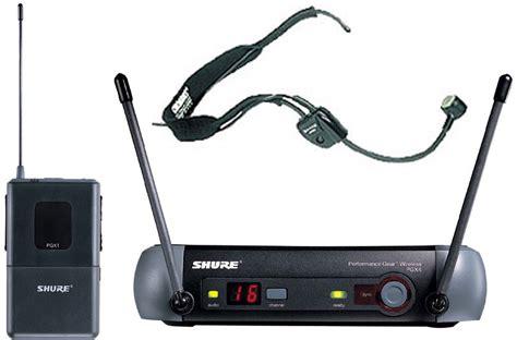 Headset Wireless Untuk Handphone Jual Mic Wireless Shure Pgx14 Wh30 Headset Harga Promo Nafiri Store