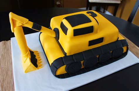 Digger Cake Template by Excavator Cake Template Excavator Cake Construction