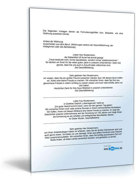 Musterbriefe Geschaeftsbriefe Widmungen F 252 R Langj 228 Hrige Mitarbeit Muster Zum