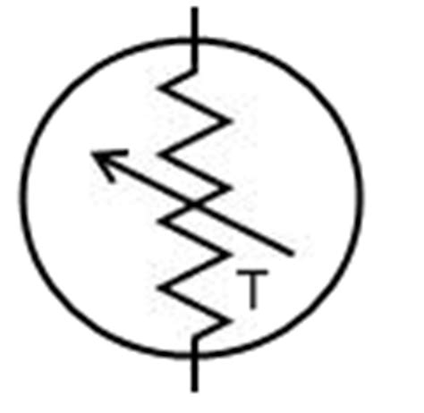 thermistor resistor symbol what is a thermistor clipart best clipart best