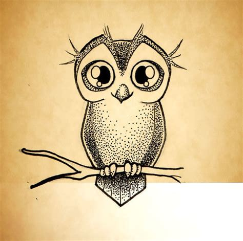 owl tattoo dotwork little owl dotwork tattoo design
