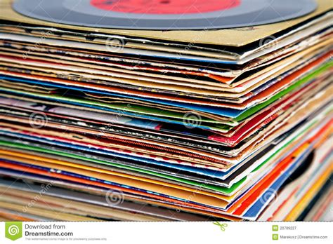 Free Search Information Vinyl Records Pile Royalty Free Stock Photography Image 20789227