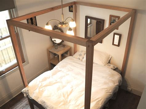 how to make a four poster bed the four poster bed by patrick holcombe handkrafted