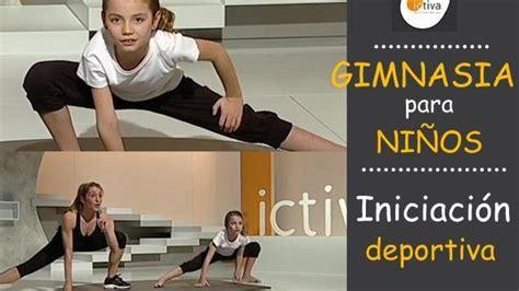 deporte en casa gimnasia para ni 209 os ejercicio f 237 sico en casa para ni 241 os